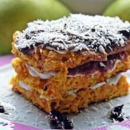 Dietetyczny torcik marchewkowy