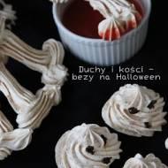 Duchy i kości - bezy na Halloween