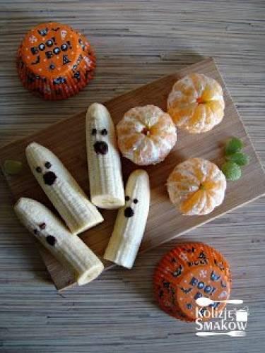 Zdrowe przekąski na Halloween