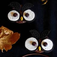 Babeczki Halloweenowe- sowy