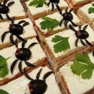 Kanapki z pająkami