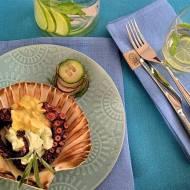 Ośmiornica z bitą śmietaną Cafe de Paris