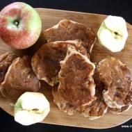 Racuchy z jabłkami na mące gryczanej (bezglutenowe)