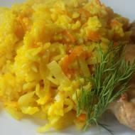 Ryż carry z warzywami
