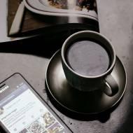Poranek przy kawie