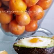 Jajko sadzone ukryte w avocado