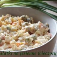 Sałatki na jesienne wieczory-akcja kulinarna!