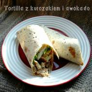 Sosy FOLWARK - Zdrowa tortilla z kurczakiem i awokado