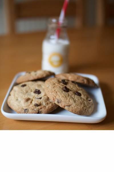 Bezglutenowe ciasteczka z czekoladą- chocolate chip cookies