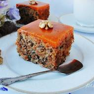 Ciasto marchewkowe z kubusiową galaretką