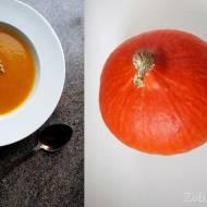 Jesienna rozgrzewająca zupa krem z dyni i marchewki