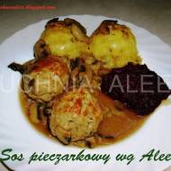 Sos pieczarkowy wg Aleex