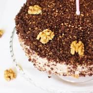 Tort orzechowy - dla diabetyków :)