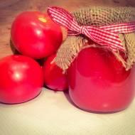 Homemade przecier pomidorowy