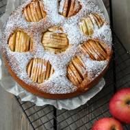 Ciasto marcepanowo-jabłkowe