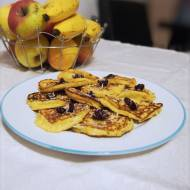 Fit placuszki jaglano bananowe