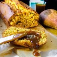 SWEET POTATO BREAD – WORLD OF WARCRAFT – ciasto ze słodkich ziemniaków z solonym karmelem