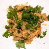 Kurczak z ryżem w sosie sojowym