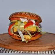 Bułki z sezamem do hamburgerów