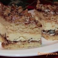 Ciasto Pani Walewska z orzechami