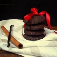 Pierwszy śnieg i bezglutenowe ciastka czekoladowe. Z cynamonem