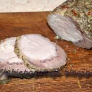 Schab parzony - do chleba