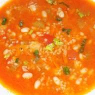 Zupa z kaszą bulgur