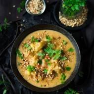 Marokańska zupa z kalafiorem,