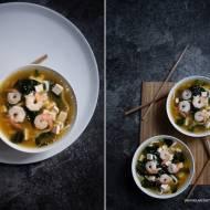 Japońska zupa z pasty miso – miso-shiru. Co to jest umami?