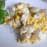 Potrawka z indyka z kukurydzą