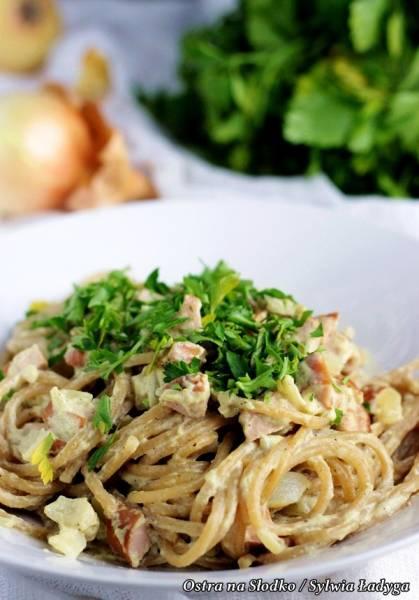 Przepis Na Spaghetti Ala Carbonara Kuchnia Wloska Najlepsze