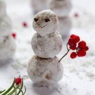 Truflowe bałwanki z białej czekolady - Idealny prezent na Mikołajki!