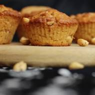 Muffinki z masłem orzechowym