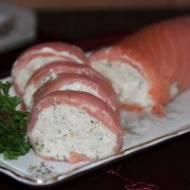 Rolada z łososiem i makrelą