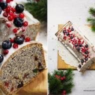 Szybki keks makowy – ciasto nie tylko na święta