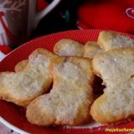 Ciasteczka maślane z cukrem - dla Świętego Mikołaja ;)