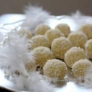 Ekologiczne praliny kokosowe z kaszy jaglanej