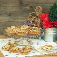 Tarteletki z serem, kajmakiem i orzechami