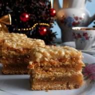 Sękaczek- kurche ciasto z jabłkami i orzechami