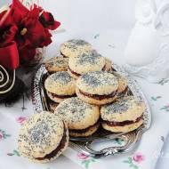 Baletki-biszkoptowe ciasteczka z makiem