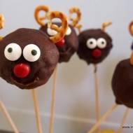 Cakepops  - reniferki