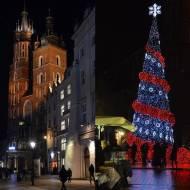 Jarmark świąteczny na Rynku Głównym w Krakowie
