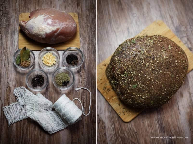 Domowa peklowana szynka wieprzowa na dwa sposoby – gotowana lub parzona