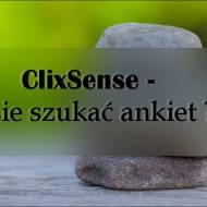 Damy radę ....: ClixSense - gdzie szukać ankiet ??