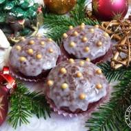 Muffinki piernikowe z miodem i pomarańczą
