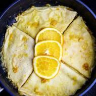 Naleśniki pomarańczowe Suzette