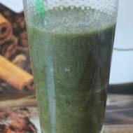 Oczyszczający i odchudzający mocno zielony koktajl