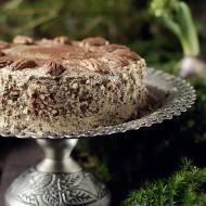 Tort makowy kawowy