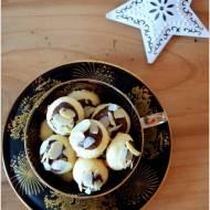 Śnieżne kule z migdałami i czekoladą!