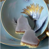 Dwukolorowe ciasteczka z rumowym lukrem